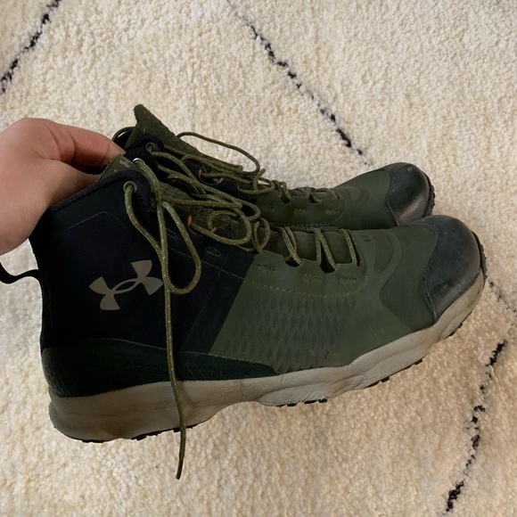 hiking shoes under armour